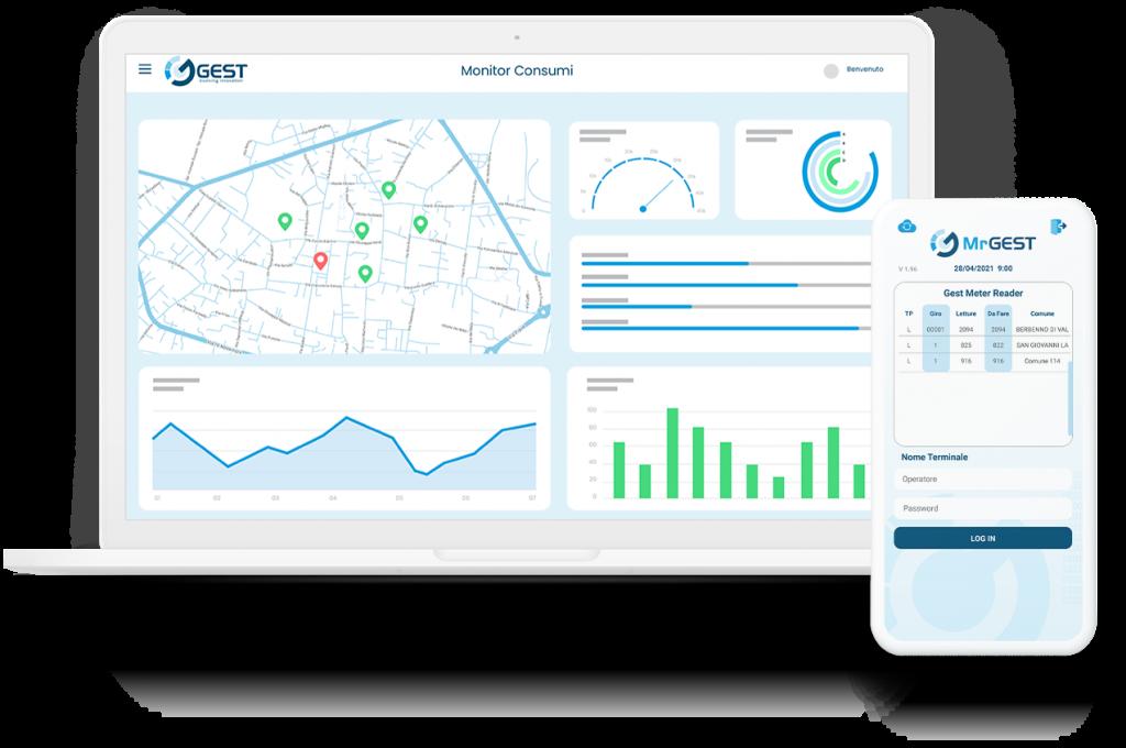 Monitor- gestione-dati smart metering