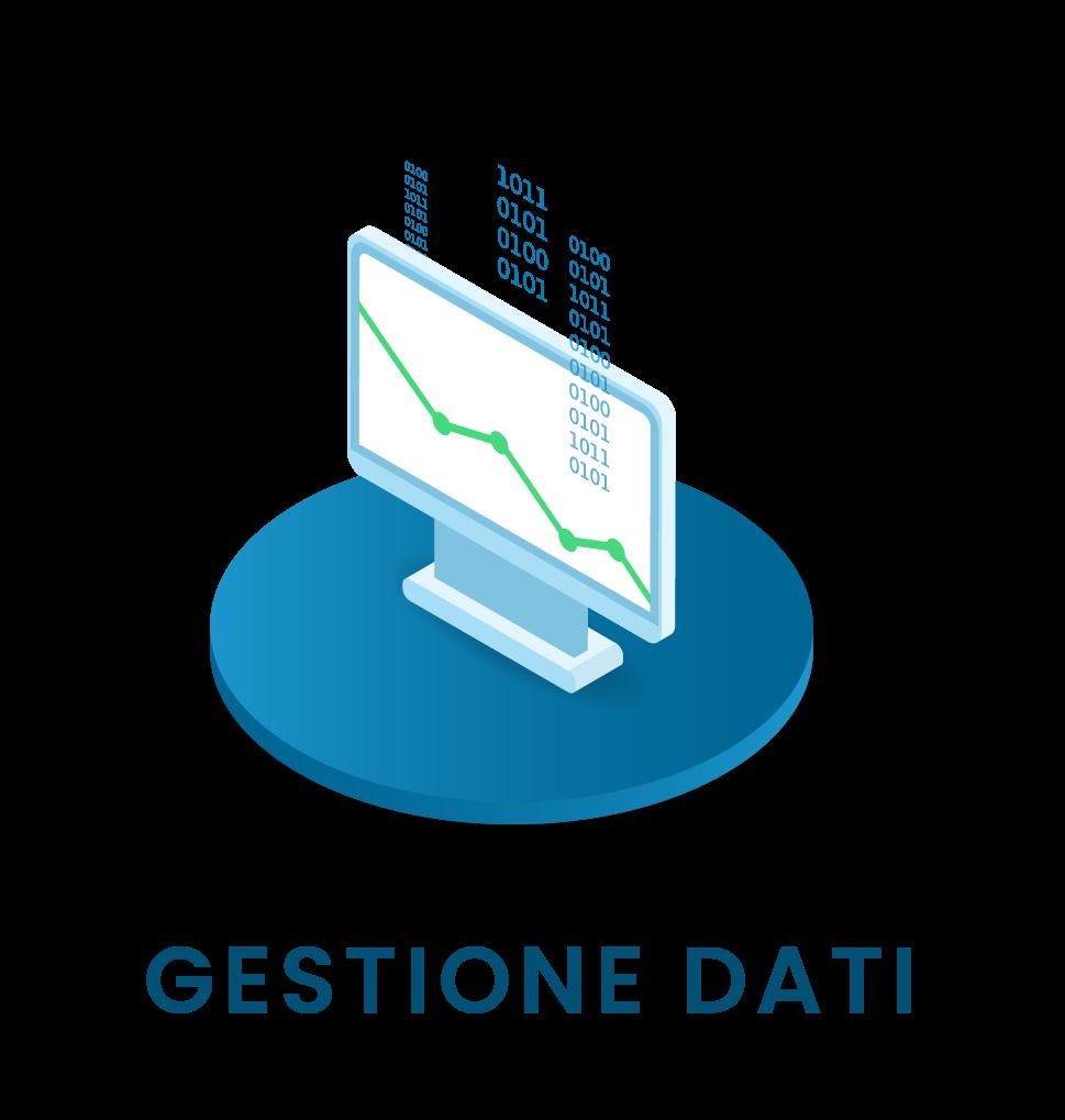 pulsante per accedere alla sezione Soluzioni Software per la gestione dei dati smart metering
